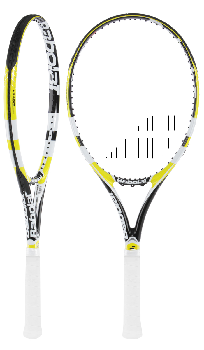 raquette de tennis babolat drive z lite jaune. Black Bedroom Furniture Sets. Home Design Ideas