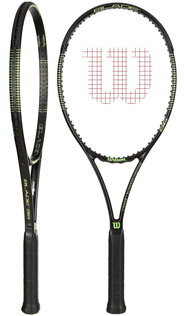 raquette de tennis wilson blade 98 18x20. Black Bedroom Furniture Sets. Home Design Ideas