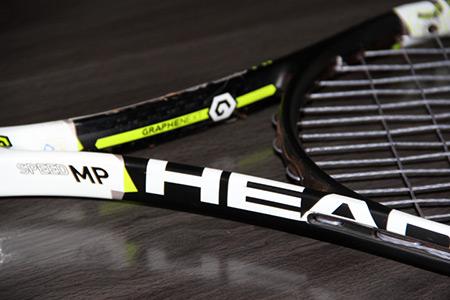 Raquette de tennis Head Graphene XT Speed Mp - coeur