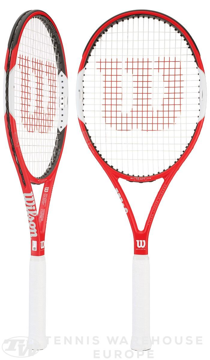 raquette de tennis wilson six one team 95. Black Bedroom Furniture Sets. Home Design Ideas