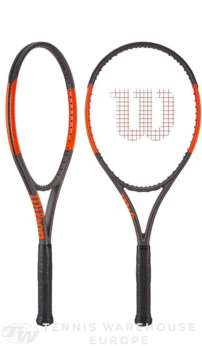 raquette de tennis wilson burn 100 s 2017. Black Bedroom Furniture Sets. Home Design Ideas