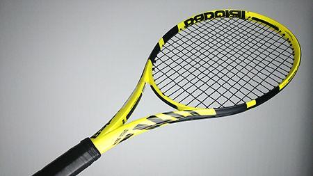 Raquette tennis babolat pure aero 2019, vue de face