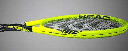 Raquette tennis Head Graphene 360 Extreme MP - vue de profil